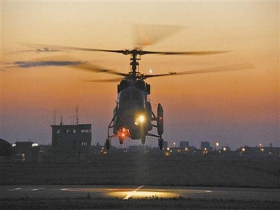 东航某舰载直升机团安排部队发展跨日夜航行锻炼