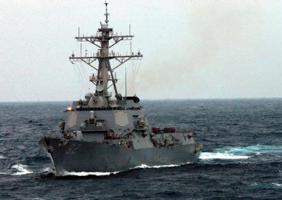 美军舰巡航南海