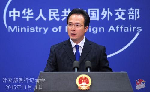 外交部发言人洪磊