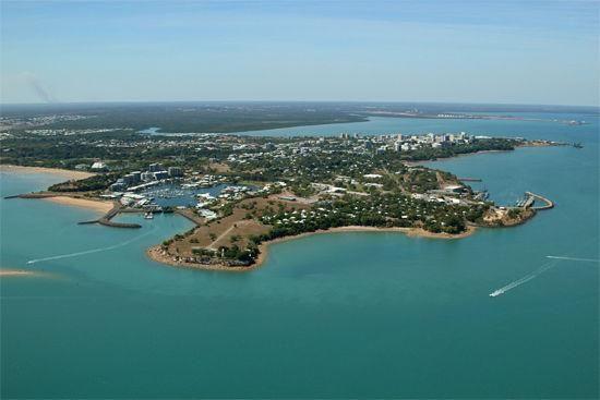 资料图:澳大利亚达尔文港