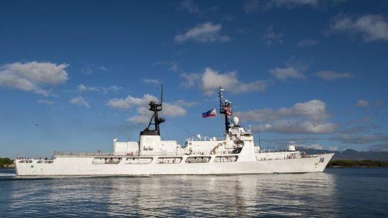 材料图:美国让渡给菲律宾水师的巡查舰(菲称保护舰)