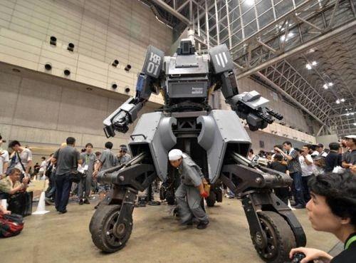 资料图:Kuratas重型机器人。