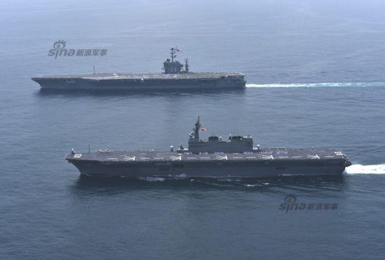 2015年5月18日,美国海军第7舰队主力CVN-73乔治-华盛顿号核动力航母正式离开日本回国。