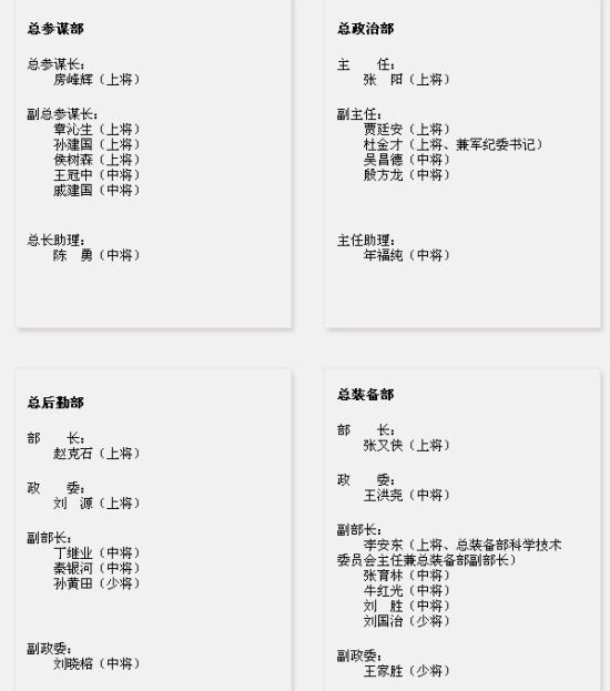 张又侠任中国国民自由军总建设部部长