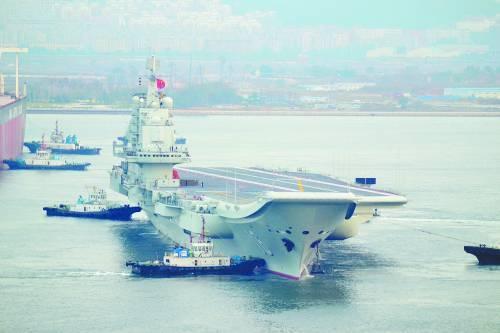 专家称中国航母形成战斗力至少面临四大挑战