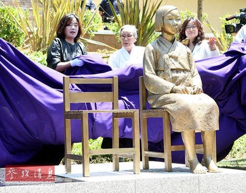 韩媒:美18名众议员联名促日本解决慰安妇问题