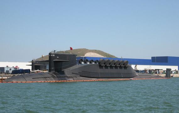 中国潜艇悄然逼近美国航母吓懵美军指挥官(图)