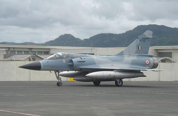 图文:印度空军认为苏-30MKI截击能力远强于幻影2000