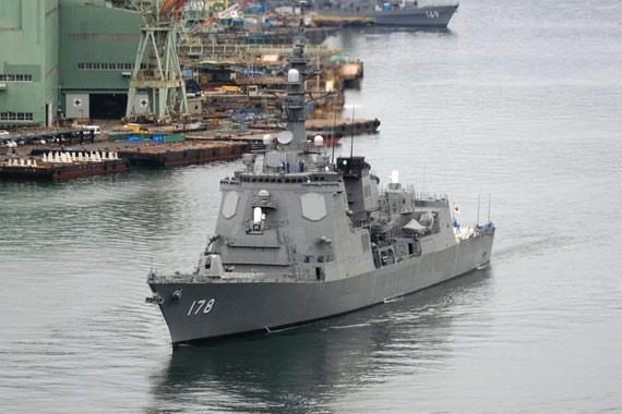 图文:海上自卫队最新型178号宙斯盾舰将于08年服役