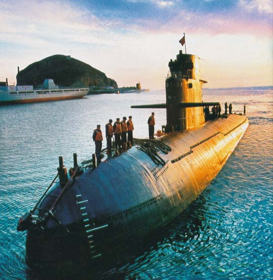 俄称中国039型常规潜艇大量借鉴法国技术(图)