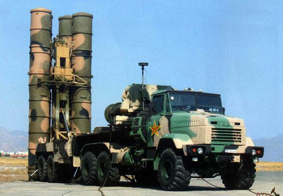 图文:中国防空部队已经装备相当数量S-300PMU1导弹