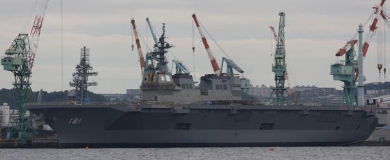 日本海上自卫队舰队进攻能力严重不足(图)