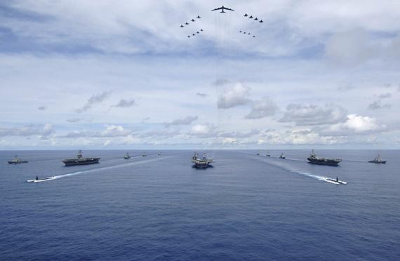 美国海军航母编队
