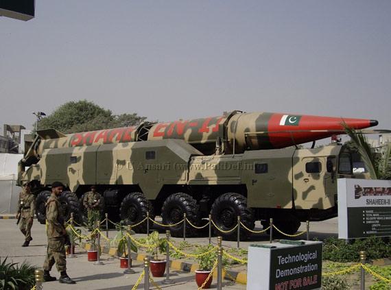 印度媒体称巴基斯坦沙欣系列导弹技术来自中国