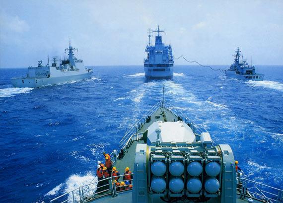 中印海军实力分析:解放军舰队基础要强于印度