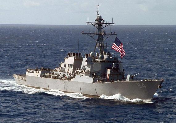 图文:最后一艘阿利-伯克级战舰已经于本月命名