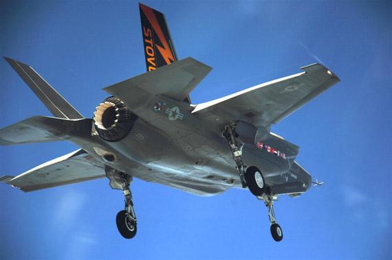 洛-马称F-35战机能够深入敌区执行监视侦察任务