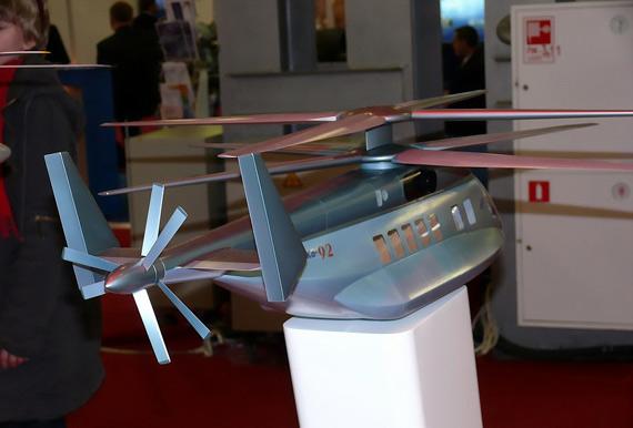 图文:俄罗斯已经推出KA-92新概念直升机