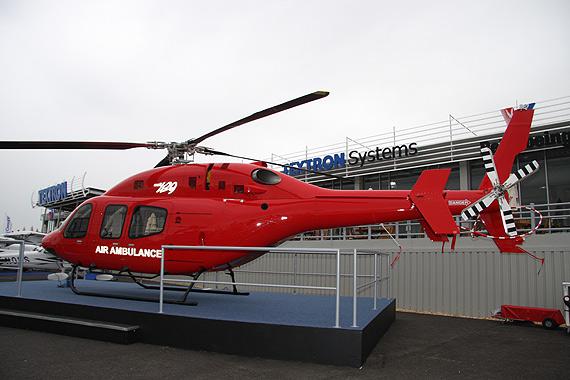 组图:贝尔429直升机亮相范堡罗航展