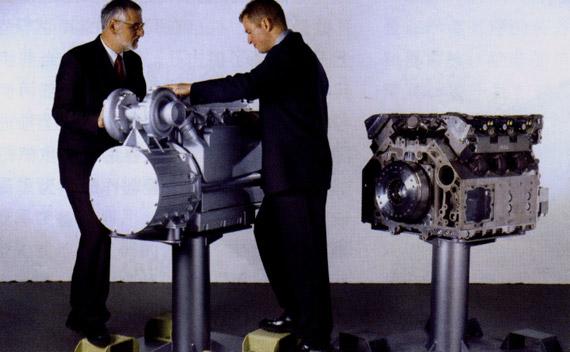 德国MTU发动机公司研制的MTU890系列发动机
