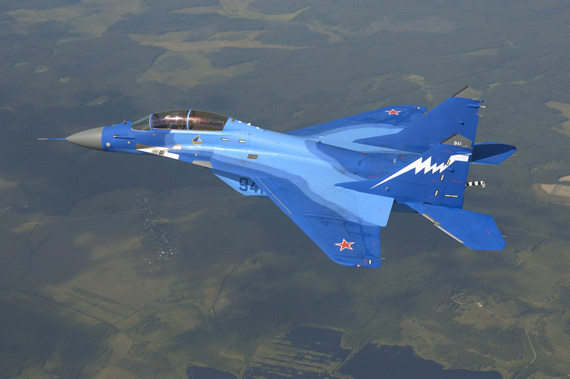 图文:俄制米格-29K中型舰载战机