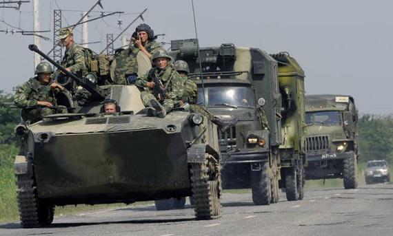 俄格冲突中从黑海地区进入格鲁吉亚的俄罗斯军队