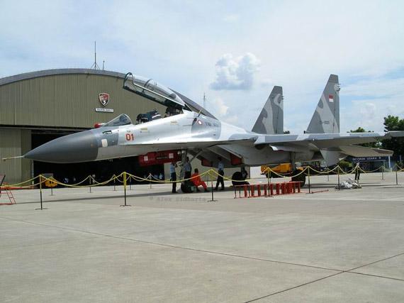 印尼空军装备的苏-30MK多用途战机