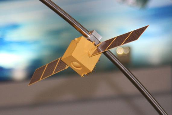 国产北斗全球定位导航卫星模型