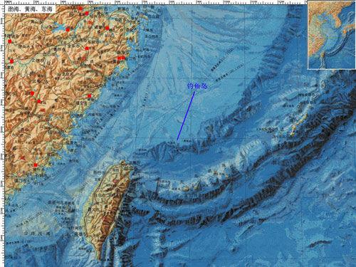 钓鱼岛位于中国东海大陆架的东部边缘,在地质结构上是附属于中国台湾的大陆性岛屿。