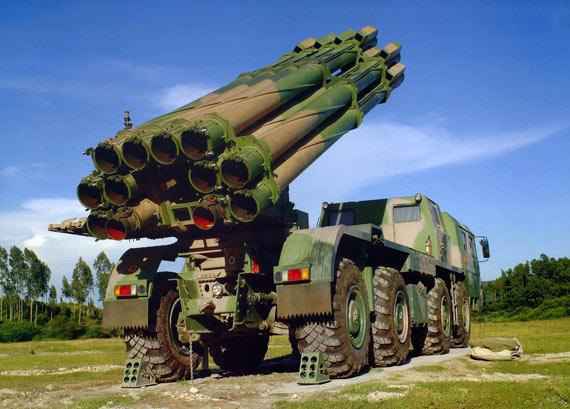国产远程多管火箭炮已经批量装备