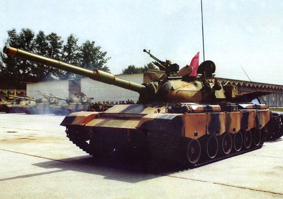 中国80式主战坦克