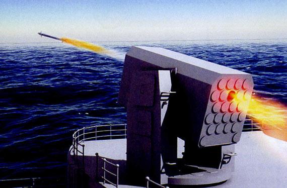 FL-3000N近防系统攻击示意图