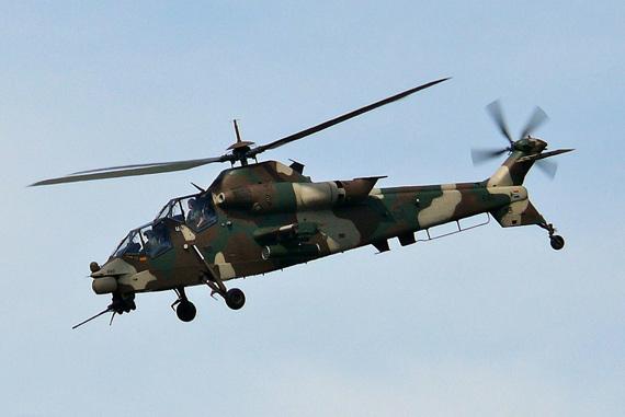 """南非CSH-2""""茶隼""""武装直升机"""