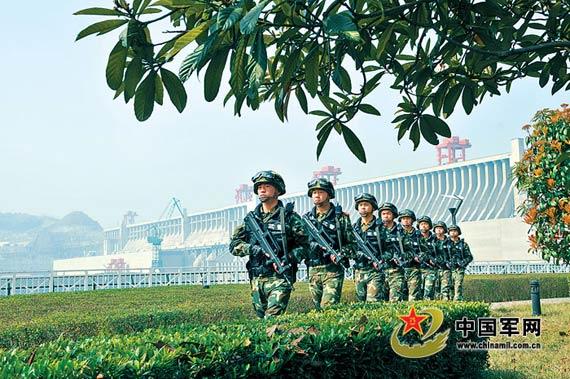 三峡大坝的军事_