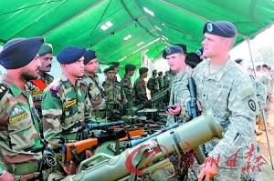 美国报告称印度正转变为全球性军事强国(组图)