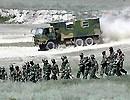 上合五国联合-2003军演