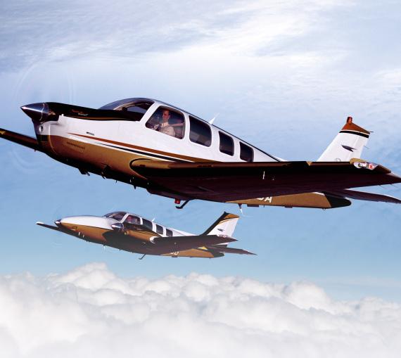 比奇男爵g58和富豪g36飞机获得中国型号认证