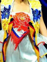 刺绣牡丹国色天香