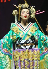 日式和服打造美艳花魁