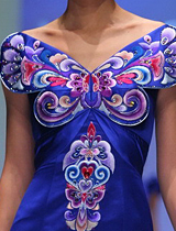 国色天香的蝴蝶设计