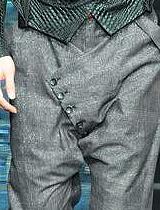 缅裆裤设计
