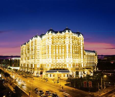 小型欧式宾馆外观