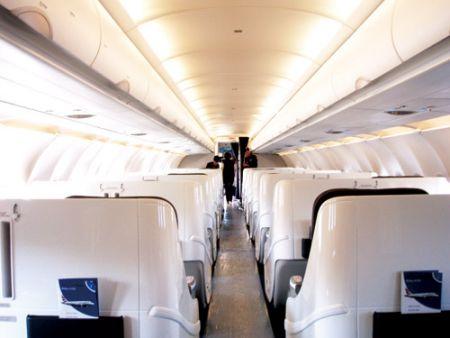 飞机商务舱内部图片