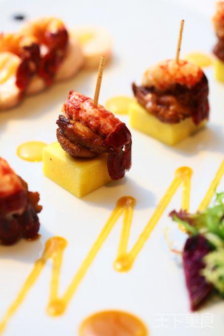 鸡肉小龙虾卷