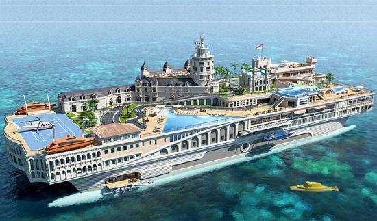 谈资 > 正文    爱玩游艇的超级富豪们又多了一个选择.