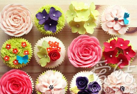 韩式睡莲蛋糕图片