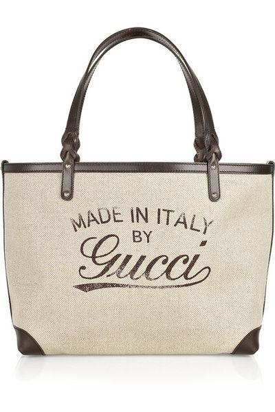 Gucci 帆布手袋 参考价格:1110美元