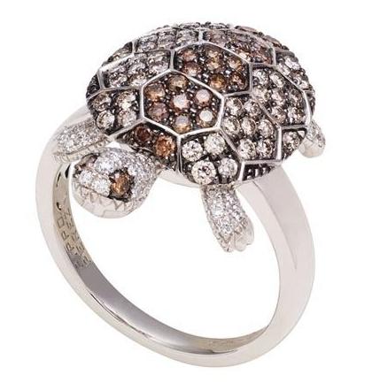 乌龟造型戒指
