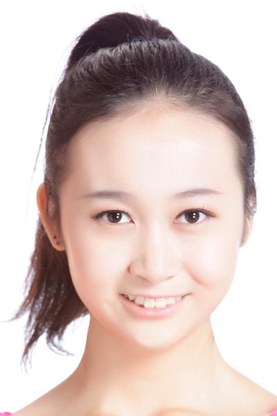15号选手刘美媚