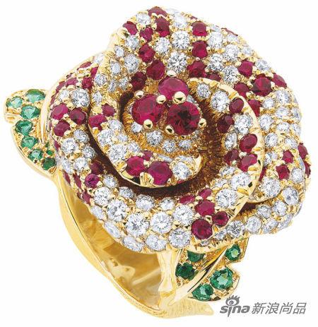 Dior Rose Dior Bagetelle系列戒指